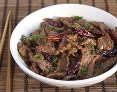 Cumin Chili Hunan Beef / 19 Savory And Authentic Chinese Foods That Need Your Mouth (via BuzzFeed)