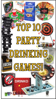 Check out these fun drinking games if you're looking for new, original, or just plain funny drinking games for your friends to play at your party. New Year's Eve Games For Adults, Funny Games For Kids, Drunk Games, New Year's Games, Group Games For Kids, Water Games For Kids, Outdoor Games For Kids, Games For Teens, Fun Funny