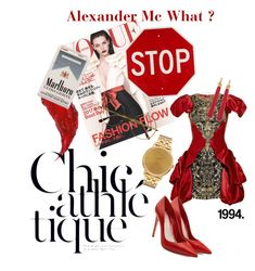 """""""Alexander Mc What?"""" by kallimanis ❤ liked on Polyvore featuring Yves Saint Laurent, Retrò, Alexander McQueen and Nixon"""