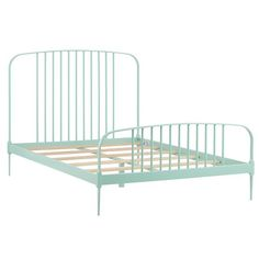Larkin Metal Bed (Mint)    The Land of Nod