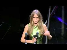 British Fashion Awards 2012, Model Award, Cara Delevingne
