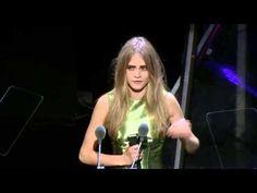 British Fashion Awards 2012, Model Award, Cara Delevingne