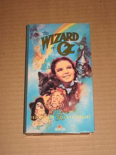 THE WIZARD OF OZ FIFTIETH ANNIVERSARY VHS (1989)