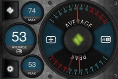 Decibel Meter Pro ($0.99) Decibel Meter Pro is the hottest, most feature packed decibel meter on iTunes! With killer graphics optimized for the iPhone, the Retina display and the iPad! Decibel Meter Pro has been in the Top Utilities on iTunes since it's release! Voice Therapy, Speech Therapy, The Retina, User Interface Design, Speech And Language, Ipod Touch, App Design, Ipad, Iphone