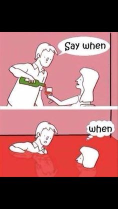 When to stop wine