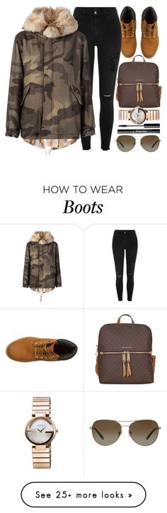 """""""Ten Twenty"""" by monmondefou on Polyvore featuring Timberland, River Island, Mr & Mrs Italy, Gucci, Tiffany & Co., GREEN and brown"""