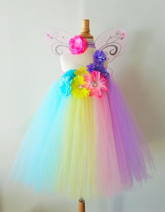 Pastel Easter Color Block Tutu Dress   Infant by AydaAndEmilys, $36.95