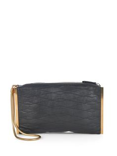 Quilted-leather clutch | Lanvin | MATCHESFASHION.COM