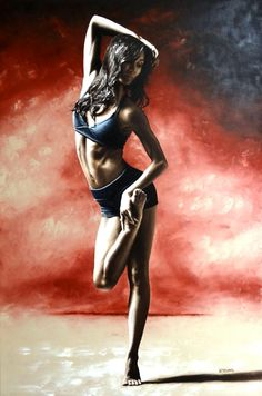 Sultry Dancer by ~ryoung on deviantART