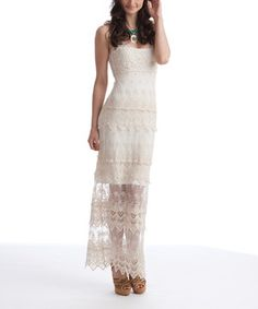 Rock the rustic look with this darling dress. Boasting a feminine, flattering fit with lovely allover lace, this pretty piece pours with Southwestern charm.