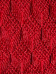Moss Diamond and Lozenge Pattern - Treasury of Knitting Patt.- Moss Diamond and Lozenge Pattern – Treasury of Knitting Patterns Moss Diamond and Lozenge Pattern – Treasury of Knitting Patterns - Baby Knitting Patterns, Knitting Stiches, Knitting Charts, Free Knitting, Crochet Stitches, Stitch Patterns, Knit Crochet, Crochet Patterns, Afghan Patterns