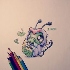 itsbirdy: I will leaf you with this cute drawing of #caterpie in a #butteefree hoodie before I pass out :) horrible pun