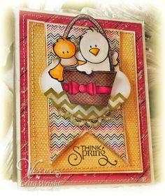 "I did a ""cute"" card!  Verve"