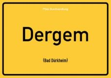 Dergem (Bad Dürkheim) - Pfälzisch Postkarte
