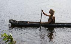 Kivikaudella ruuhella taitettiin pitkiäkin matkoja. Oulu (Finland)