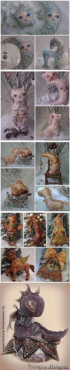 Елочные игрушки от Виктории Морозовой - Красота.