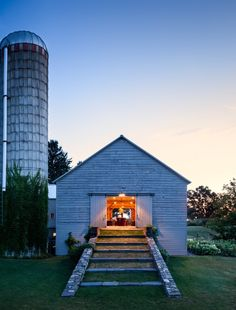 Vote for the Best Garden Shed or Outbuilding in the Gardenista Considered Design Awards - Gardenista Converted Barn, Barn Renovation, Farm Barn, Goat Barn, Modern Barn, Old Barns, Rustic Barn, The Ranch, Residential Architecture