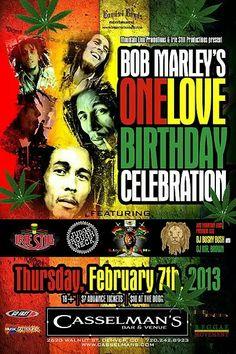 Bob Marley's One Love Birthday Tribute