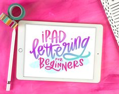 Join this online course and learn how to create iPad Lettering using an iPad Pro, Apple Pencil and the Procreate app.