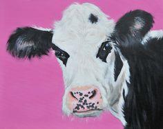Lottie Acrylic on canvas 40x50cm £200