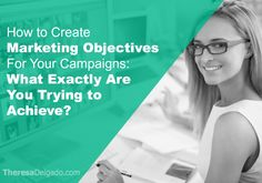Marketing objectives are goals you set. They range from increasing sales to building your email list. Each marketing campaign that you create should ideally have a goal or objective attached to it. Without a goal, you're essentially shooting in the dark. You have no idea what your marketing is supposed to achieve and no means…