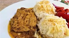 Grains, Pork, Rice, Meat, Red Peppers, Kale Stir Fry, Seeds, Pork Chops, Laughter