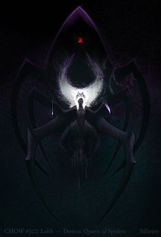 Lolth - Demon Queen of Spiders by Sillirien | Drider