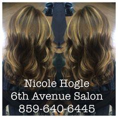 Rusk hair color  Carmel  Balayage