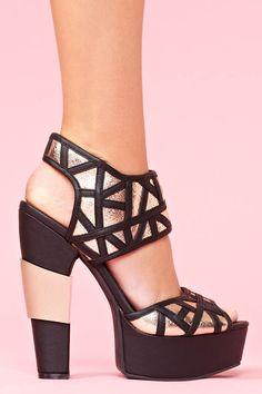 7d0e67286a8e Gia Platform – Black Socks And Sandals
