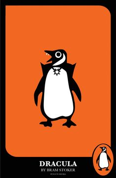 Dracula Penguin by graphic designer Amy Fleisher. See here for our edition: http://www.penguinenglishlibrary.com/#!dracula