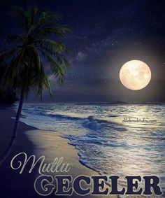 Photographic Print: Beautiful Fantasy Tropical Beach with Milky Way Star in Night Skies, Full Moon - Retro Style Artwor by jakkapan : Milky Way Stars, Ciel Nocturne, Image Nature, Shoot The Moon, Moon Photography, Moonlight Photography, Landscape Photography, Travel Photography, Moon Art