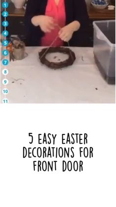 Easter Wreaths, Holiday Wreaths, Holiday Crafts, Happy Bible Verses, Diy Craft Projects, Craft Ideas, Easy Crafts, Diy And Crafts, Jesus Crafts