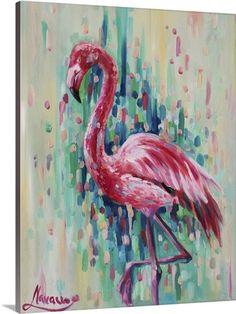 Flamingo prints wall art- flamingo print- pink-abstract art- giclee print- pink flamingo art- tropical decor- tropical gifts- tropical print Flamingo art abstract art bird painting Florida by LenaNavarroArt Flamingo Painting, Flamingo Art, Pink Flamingos, Flamingo Pattern, Cross Paintings, Abstract Paintings, Painting Canvas, Art Paintings, Painting Clouds