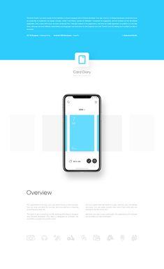 Card Diary - iOS App on Behance