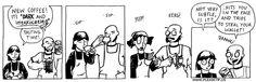 Gangsta Coffee | Aprons