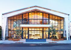A modern interpretation of the Grange Movement in the United States has culminated into Jensen Architects' SHED. The SHED is a 10,800 square foot building in Healdsburg, California that is working to transform the culture of this sustainable farming and wine-making community. The SHED is a café, retail, and event space that supports the artisan community by providing local products to customers and encouraging sustainable living.
