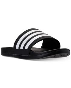 b808feeb9f47c6 adidas Women s adilette Cloudfoam Plus Slide Sandals from Finish Line Shoes  - Finish Line Athletic Sneakers - Macy s