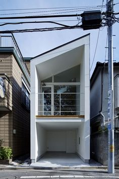 New Apartment Facade Design Architecture Townhouse Ideas Architecture Du Japon, Residential Architecture, Architecture Design, Minimalist Architecture, Contemporary Architecture, Facade Design, Exterior Design, Renovation Design, Compact House
