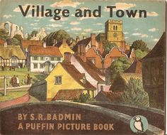 Puffin picture books, produced between 1940 and 1965. More here http://vintageposterblog.com/2011/09/16/everday-good-design/