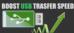How To Speed Up USB Pendrive Data Transfer