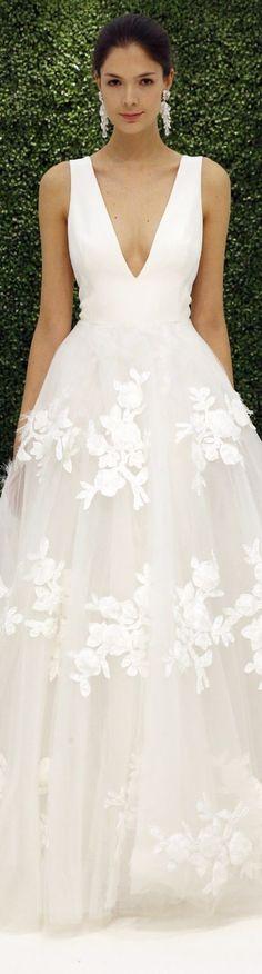 Sachin & Babi Bridal Spring 2017 Wedding Dresses - Deer Pearl Flowers / http://www.deerpearlflowers.com/wedding-dress-inspiration/sachin-babi-bridal-spring-2017-wedding-dresses/