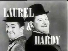 Laurel & Hardy - Despacito (by Founzy) Great Comedies, Classic Comedies, Classic Movies, The Comedian, Stan Laurel Oliver Hardy, Laurel Und Hardy, Adult Comedy, Sound Film, Comedy Duos