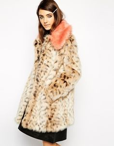 ASOS Faux Fur Leopard Print Coat With Contrast Collar $96 http://us.asos.com/ASOS/ASOS-Faux-Fur-Leopard-Print-Coat-With-Contrast-Collar/Prod/pgeproduct.aspx?iid=4407911&WT.ac=rec_viewed&CTAref=Recently+Viewed
