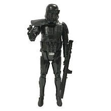 The Star Wars Rogue One 19 inch Big Figure - Death Trooper Features:<br><ul><li>Straight out of Star Wars: Rogue One comes the Jakks BIG-FIGS 19 inch Imperial Death Trooper.</li><br><li>The elite soldiers of Imperial Intelligence, Death Troopers are encased in specialized stormtrooper armor with a dark, ominous gleam.</li><br><li>This incredible 20-inch-scale BIG-FIGS Death Trooper features 7 points of articulation for fully poseable action and includes 2 blaster accessories to eliminate…