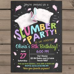♥ A perfect way to invite your guests to your little ones birthday party! You will receive ready-to-print files that you can just print in any