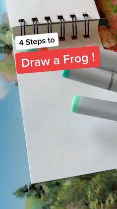 Art Drawings Sketches Simple, Pencil Art Drawings, Easy Drawings, Drawing Techniques, Drawing Tips, Drawing Ideas, Diy Canvas Art, Doodle Art, Art Tutorials