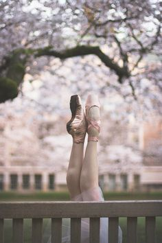 Emma Love Suddarth | Cherry Blossoms | Pointe Shoes | Pacific Northwest Ballet | © Lindsay Thomas