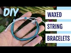 Diy Bracelets With String, String Friendship Bracelets, Friendship Bracelets Tutorial, Thread Bracelets, Diy Bracelets Easy, Bracelet Tutorial, Ankle Bracelets, Macrame Tutorial, Loom Bracelets