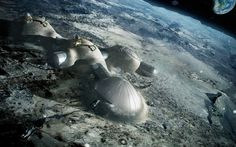 Foster   Partners is part of a consortium set up by the European Space Agency to explore the possibilities of 3D printing to construct lunar habitations.<br />