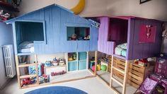 Kura beds transform into Tree House Playland - IKEA Hackers